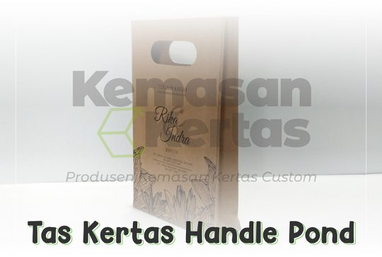 tas kertas handle pond